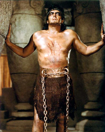 Victor Mature as Samson